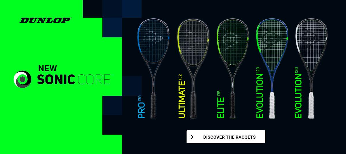 Squash racquets Dunlop Sonic Core