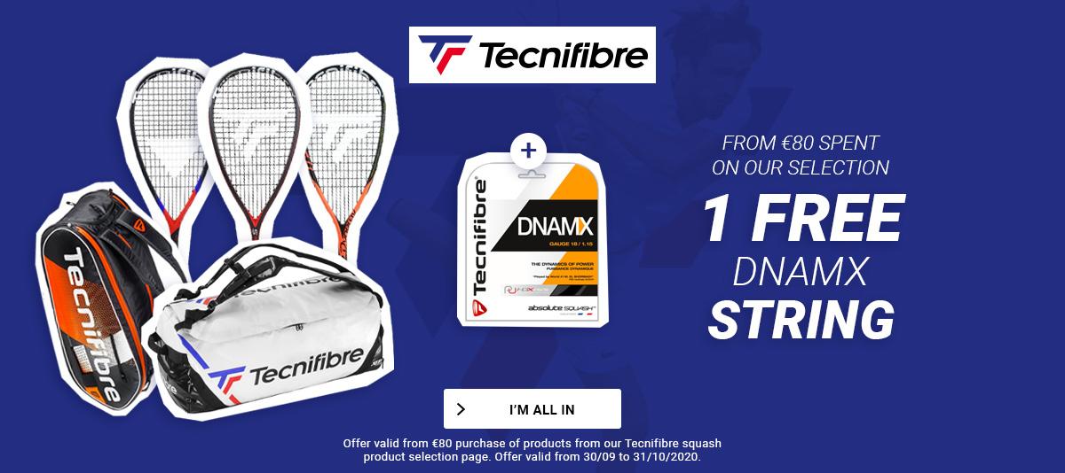 Tecnifibre Squash Offer !