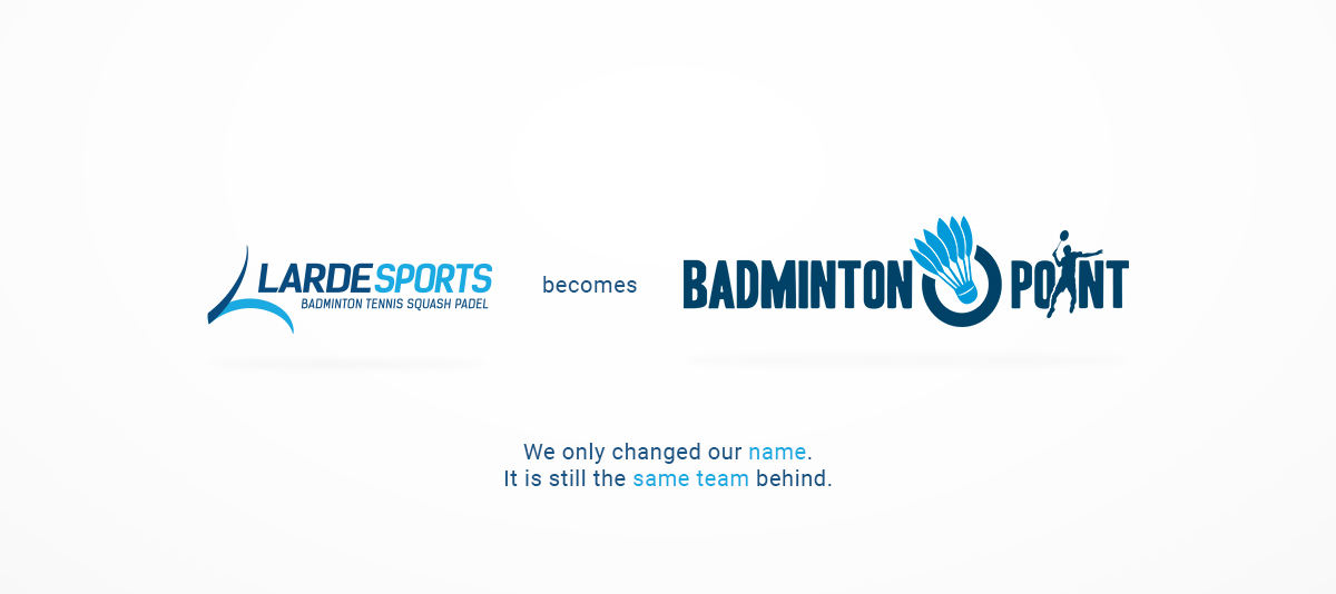 Larde Sports becomes Badminton-Point
