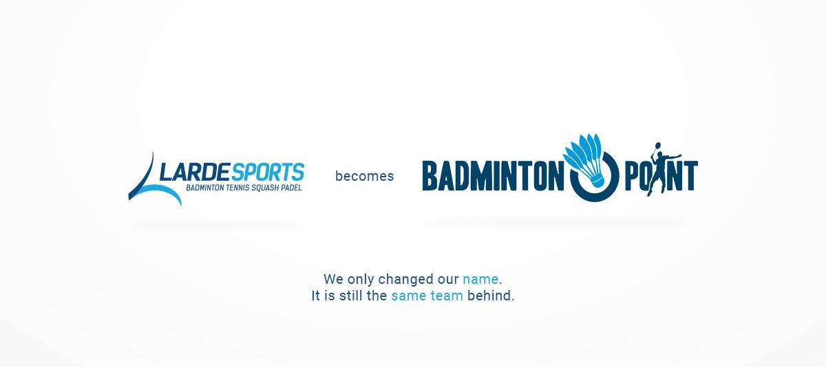 Larde Sports becomes Badminton-Point