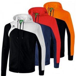 JUNIOR ERIMA CLUB 1900 2.0 JACKET WITH A HOODIE
