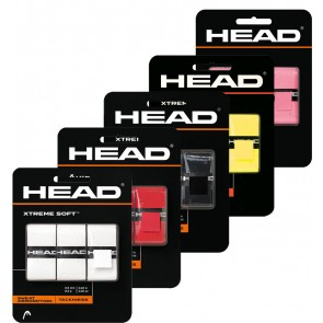 HEAD XTREME SOFT OVERGRIP (x3)