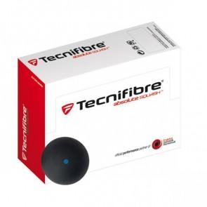TECNIFIBRE SQUASH BALL (X2-SINGLE BLUE DOT)