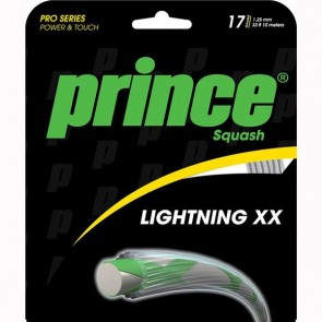 PRINCE LIGHTNING XX17 SQUASH STRING (PACK-10M)
