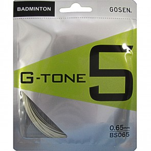 GOSEN G-TONE 5 BADMINTON STRING (10M STRING PACK)