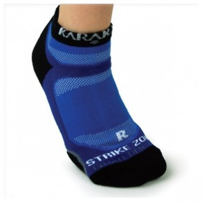 KARAKAL INVISIBLE SOCKS - BLUE (X1)