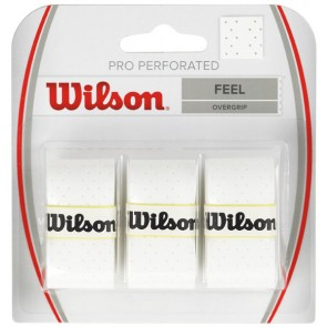WILSON PRO PERFORATED OVERGRIP (x3)