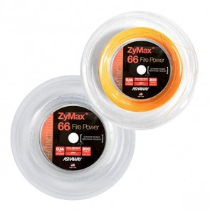 ASHAWAY ZYMAX 66 FIRE POWER BADMINTON STRING (REEL - 200M)