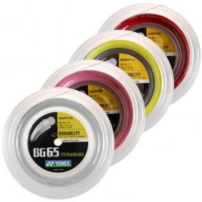 Yonex BG65Ti (Reel- 200m) Badminton String